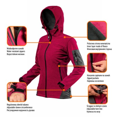 Куртка softshell Women Line NEO Tools 80-550